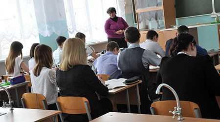ВСамарской области школьники написали контрольные побиологии