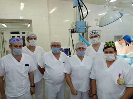 Челябинские врачи впервые пересадили сердце пациенту