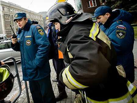 Вцентре столицы эвакуируют гостей торгового центра «Тройка»