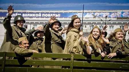 День Победы вКрасноярске закончится особенно высоким салютом