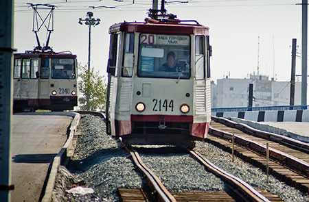 В Челябинске надва дня отменят движение трамваев