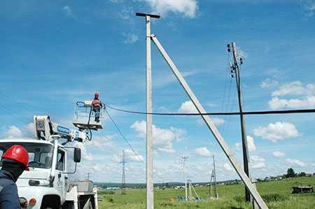 Благодаря энергетикам «Челябэнерго» кжителям нового микрорайона вселе Миасском приходит свет