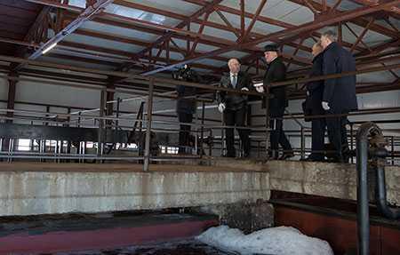 Губернатор выделил средства навторую очередь очистных сооружений вВерхнеуральске