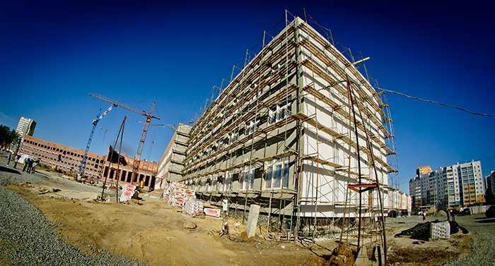 Вчелябинском микрорайоне «АКАДЕМ» построят школу идетский парк