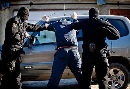 Сотрудниками милиции задержана группа лиц, подозреваемая всовершении «фиктивного» ДТП