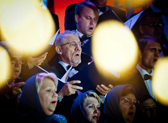 Стены будущего кафедрального собора в Челябинске услышат духовную музыку