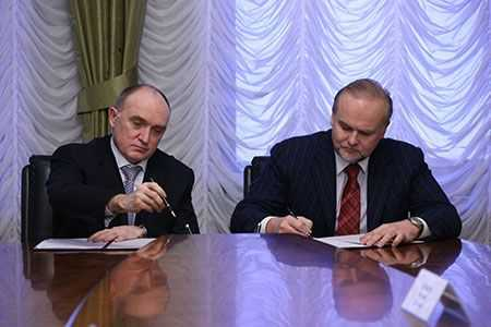Дубровский подписал соглашение сRWM Capital попроекту автодороги Челябинск
