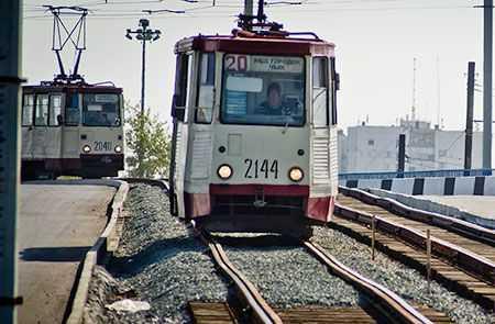 ВЧелябинске музыкальный трамвай отправится в 1-ый  рейс под мелодии диксиленда