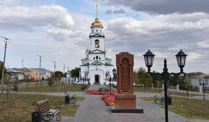 В Троицке благоустроили набережную и площадь у главного собора города