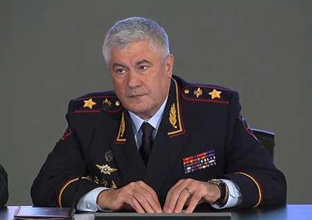 Руководитель МВД РФ Владимир Колокольцев прибыл вЧелябинск