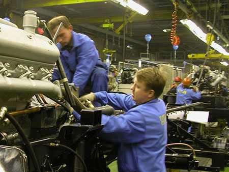 В 2019 в РФ Mercedes начнет собирать автомашины