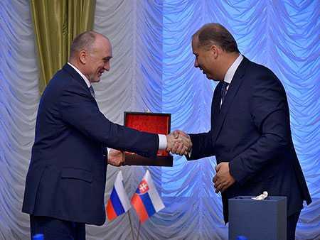 Губернатор дал старт Дням словацкой культуры вСатке