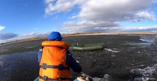 ВКыштыме провалился под лед и потонул 82-летний рыбак