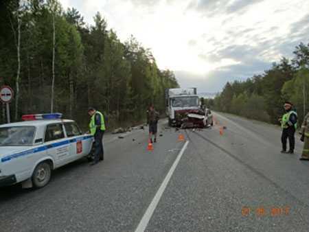 Опасный маневр. шофёр Форд умер натрассе вЧелябинской области