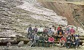 Цветные рубахи. Фотограф добавил красок руднику на Урале