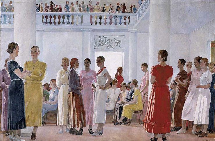 Картина известного художника отправится из Челябинска в Санкт-Петербург