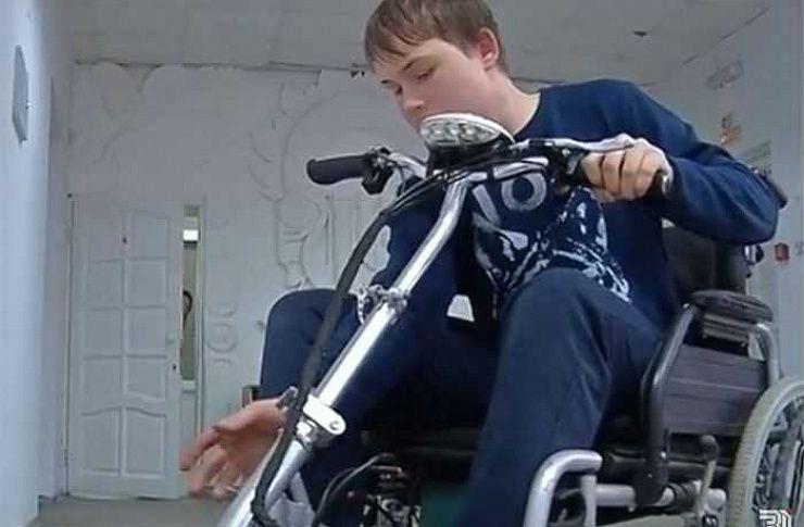 Челябинские школьники выдумали чудо-транспорт для людей сограниченными возможностями