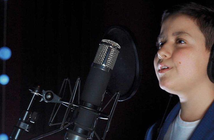 Солист изЧелябинской области споет нашоу «Голос. Дети»