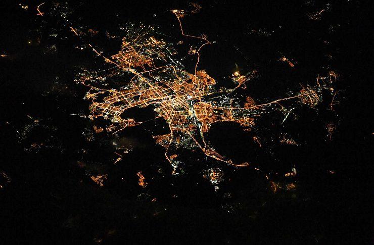 Неповерите, насколько Челябинск красив! Космонавт сфотографировал город сборта МКС