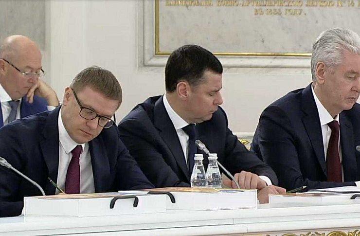Алексей Текслер принял участие в заседании Госсовета по аграрной политике