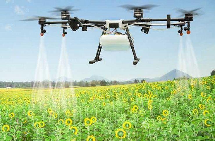 В Миассе запустят производство дронов для опрыскивания полей