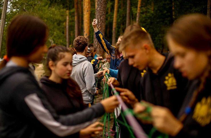 Юные туристы штурмуют Таганай