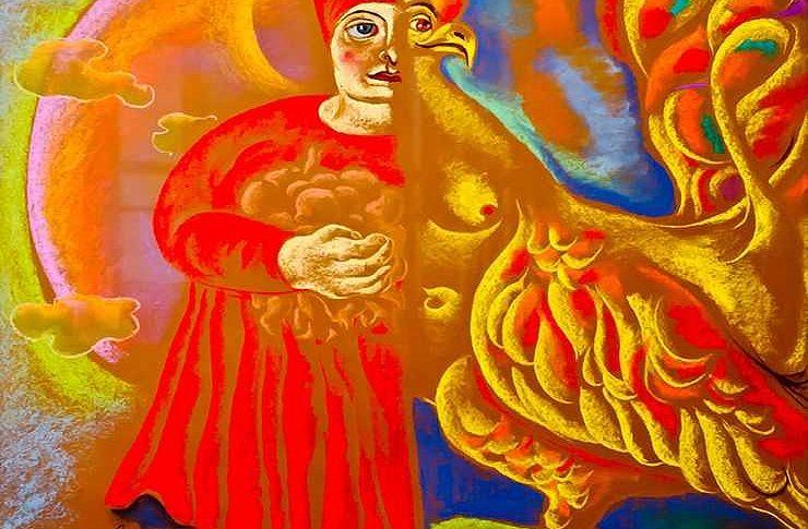 Челябинская художница пытается расшифровать коды древнерусской цивилизации