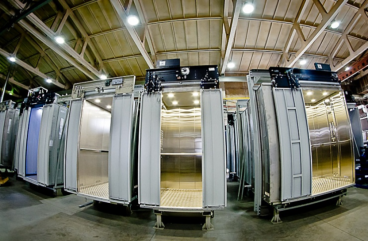 30% лифтов вПермском крае отработали нормативный срок