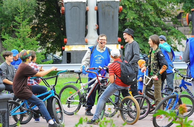 Музей ЧМК организовал велосипедную экскурсию поМеталлургическому району